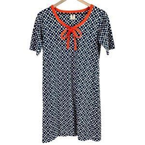 Orla Kiely RARE 60s Mod Vibe Short Sleeve Dress S